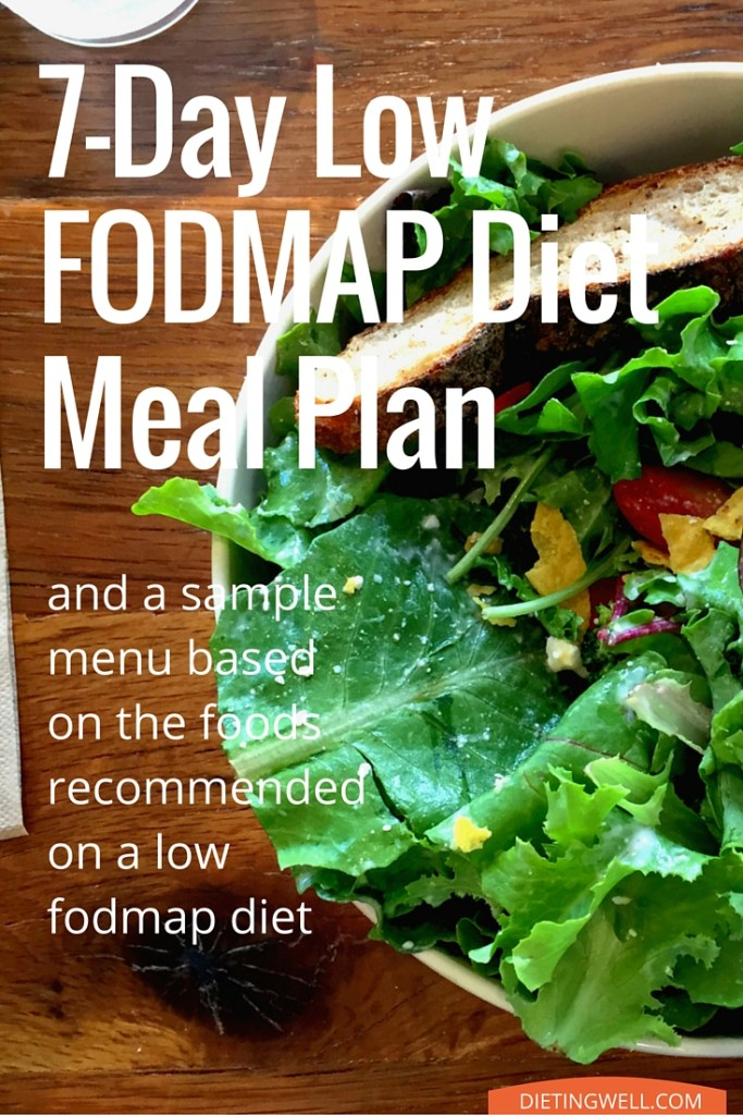 7-Day Low FODMAP Diet Meal Plan and Menu