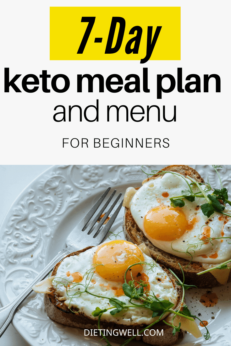 7-day keto meal plan for beginners