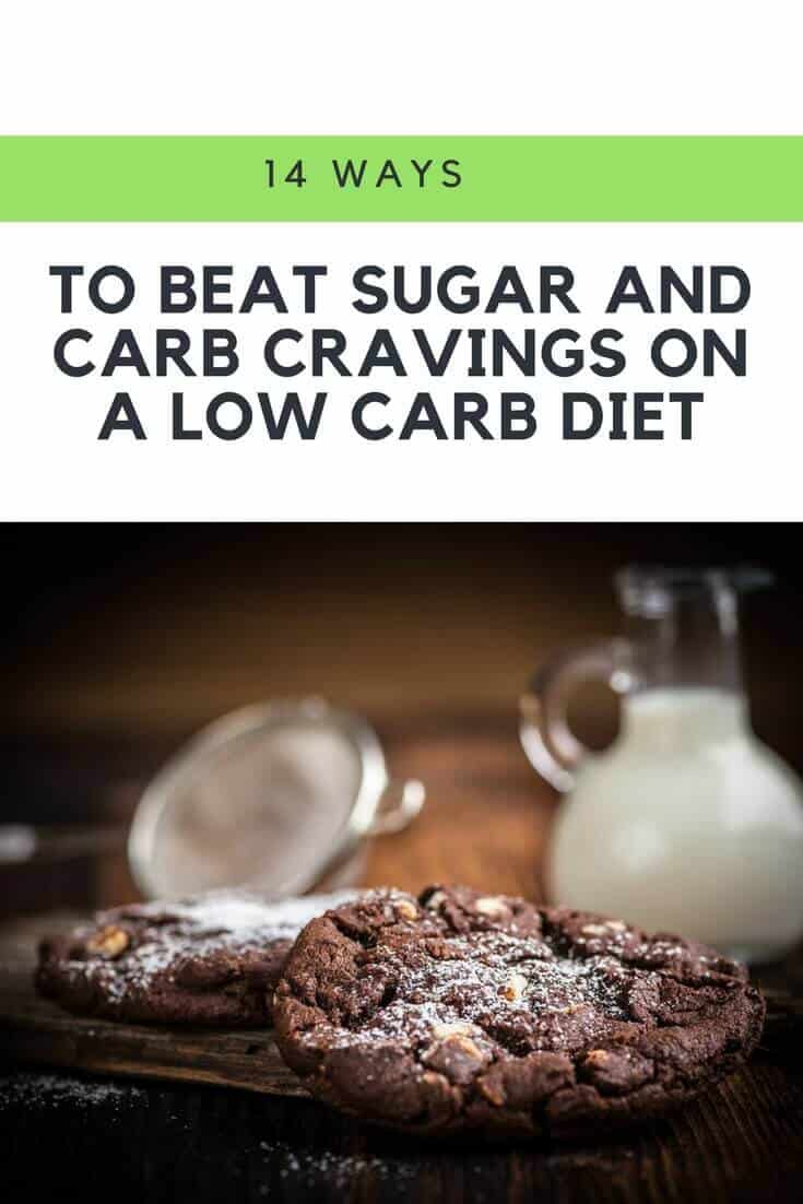 Do you find that you have trouble controlling your cravings? Here are some simple ways to deal with sugar and carb cravings that´ll get you back on track. | https://dietingwell.com/how-to-stop-carb-cravings/