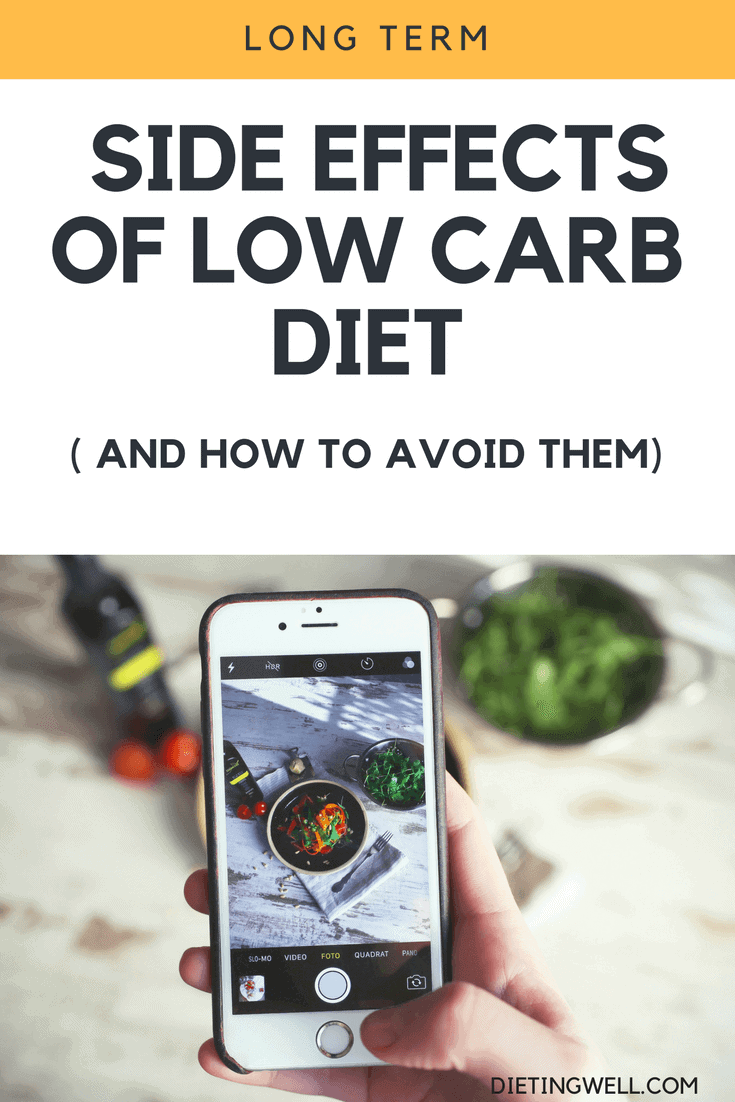 Low-carb eating is a healthy and effective way to lose weight for many people, but may cause some side effects in the long term. Here are some tips on how to deal with these side effects.