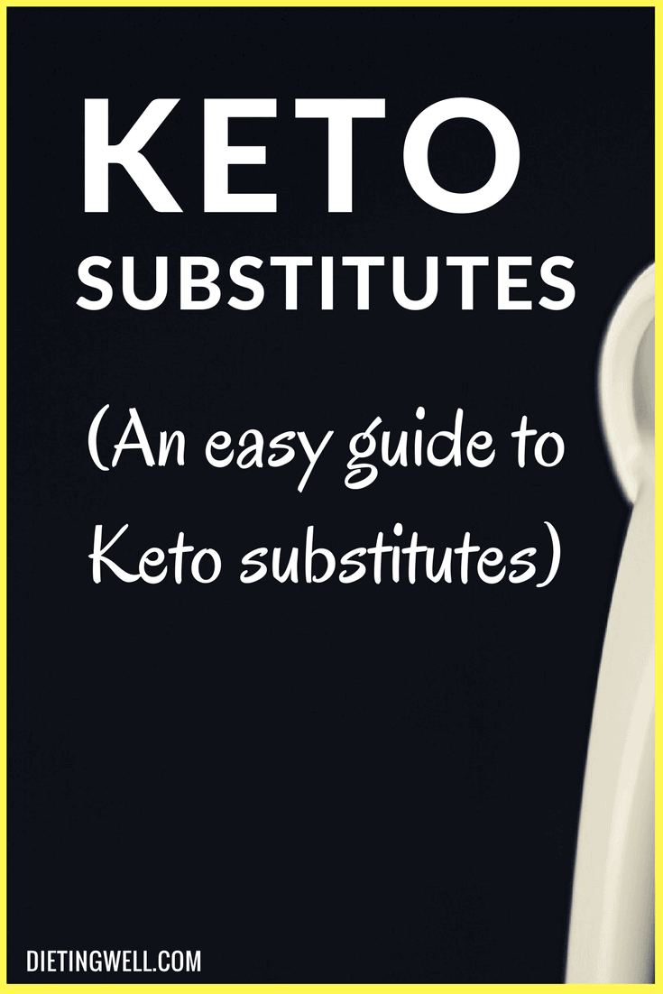 These substitutes come from favorites we often enjoyed before we took on this new diet. Each item contains ingredients that make it keto-friendly and ideas of how you can mix these items into your daily intake amounts.