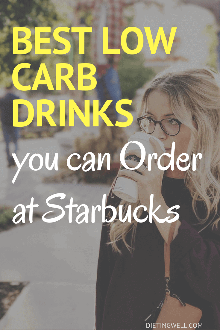 If you have special dietary needs, then it can be downright frightening ordering at Starbuck's. Here are the best low carbs drinks to order at Starbuck's. | https://dietingwell.com/low-carb-drinks-at-starbucks/