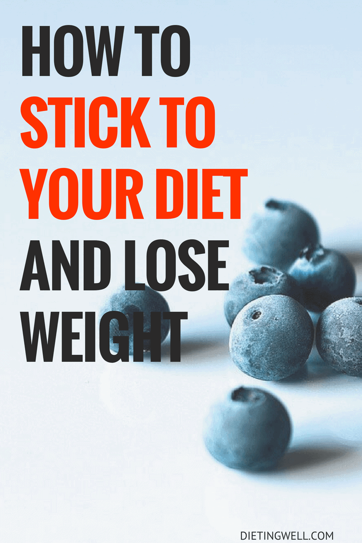 How to Stay on Track with Your Diet