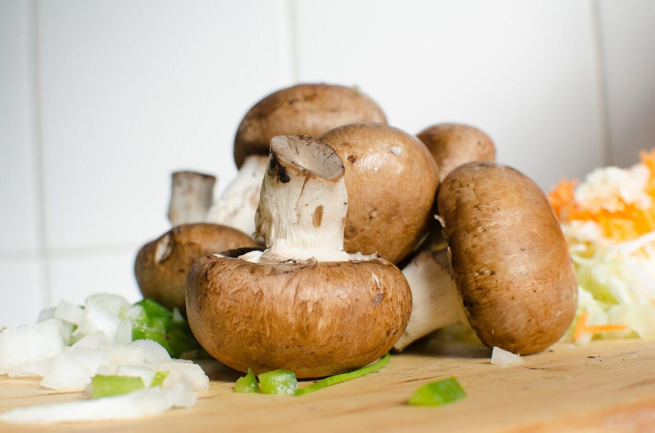 Foods Rich in Selenium ( Mushroom)