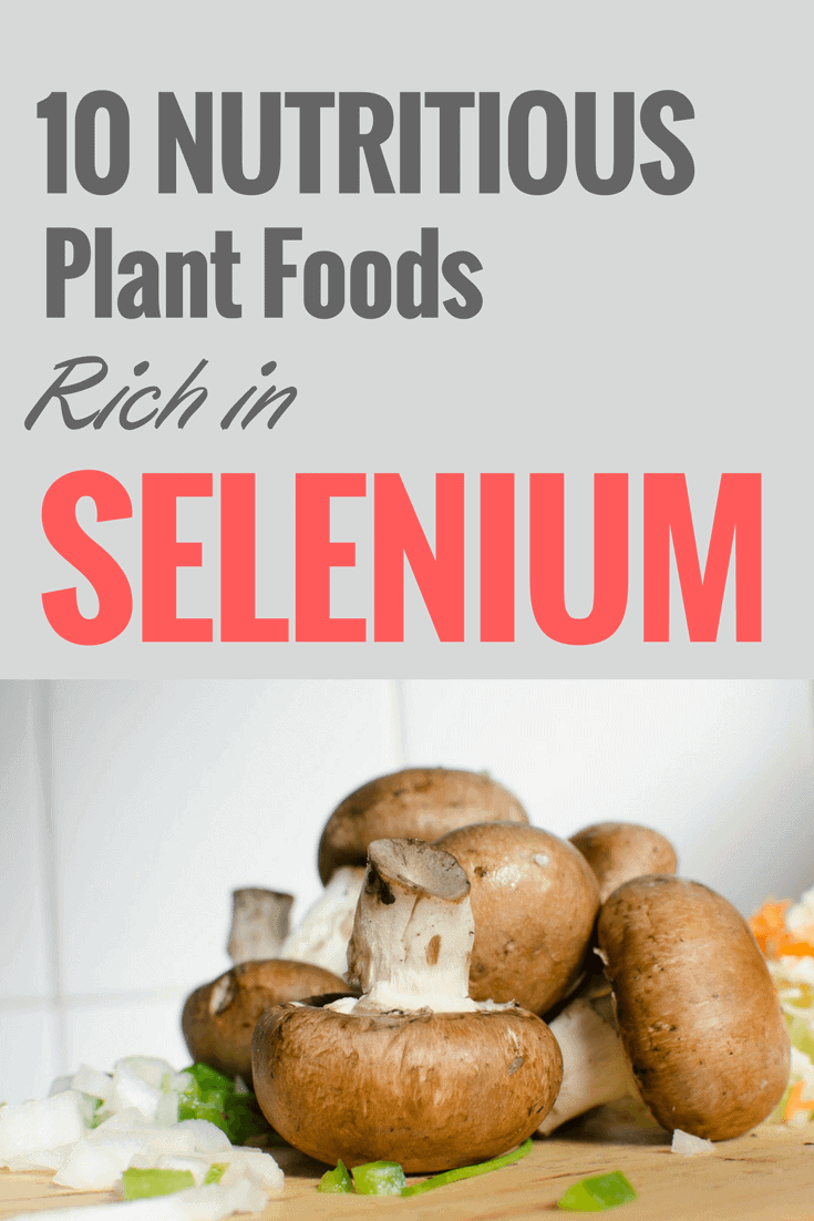 10 Nutritious Plant Foods Rich in Selenium (1)