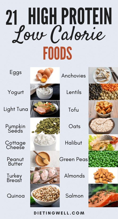 High Protein Low Calorie Foods