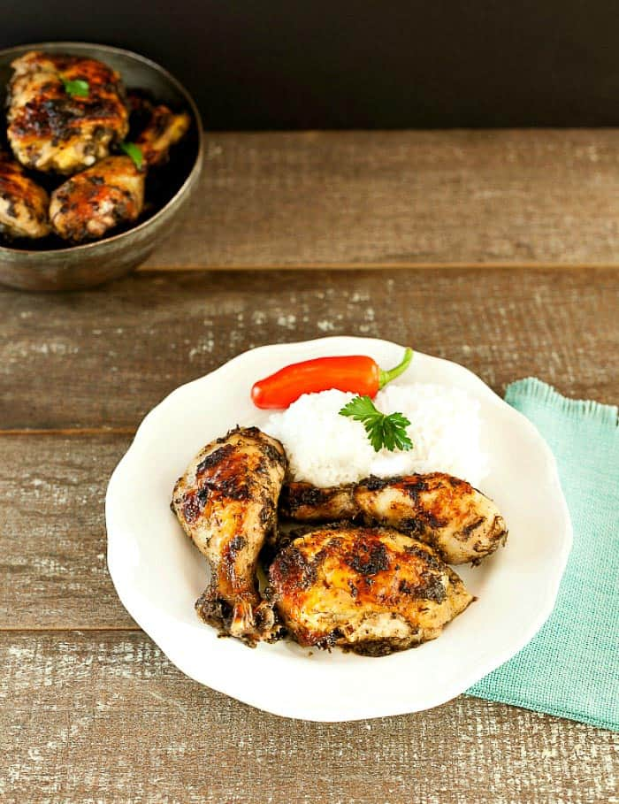 Baked Jerk Chicken