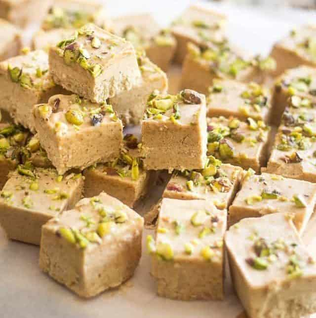 Almond Pistachio Keto Fat Bombs