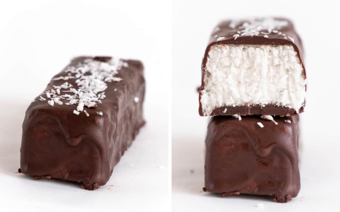 Healthy No Bake Keto Coconut Bars