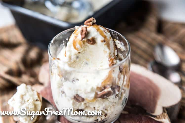 Keto Butter Pecan Fat Bomb Ice Cream